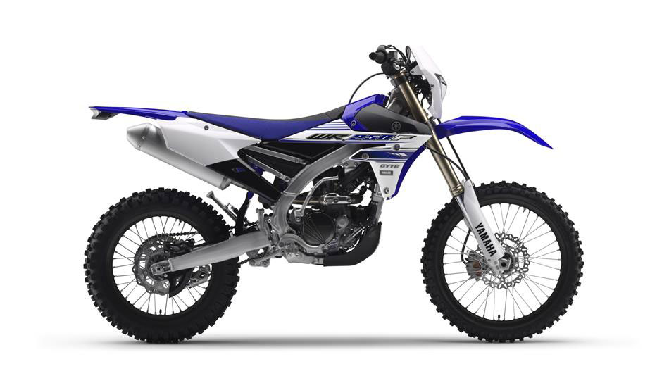 2014 Yamaha WR250F EU Racing Blue - one of our motorcycles when off roading in Spain