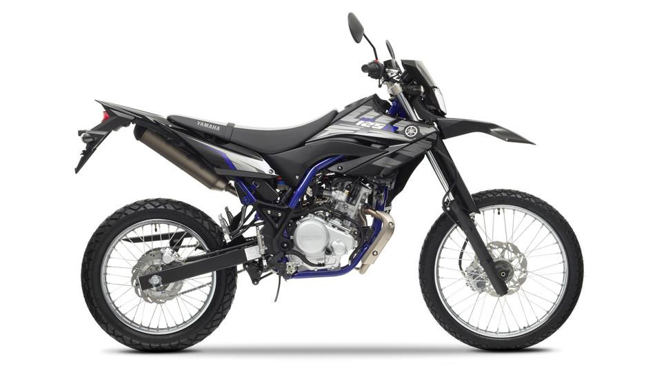 Off road our Yamaha motorcycles, this is a picture of a Yamaha Tricker for hire in Spain.